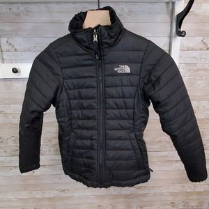 The North Face reversible puffer jacket w/ fleece